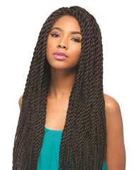 Sensationnel Empress Braided Lace Wigs - Senegal Rope Braids