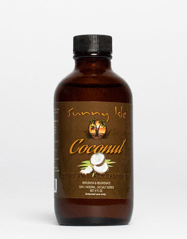 Jamaican Black Castor Oil • Coconut