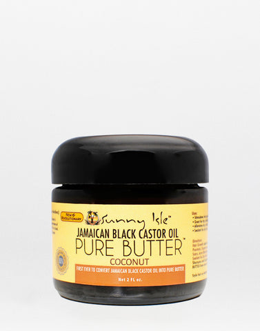 Jamaican Black Castor Oil • Pure Butter - Coconut
