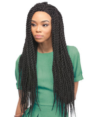 Reggae Twist Wig Large