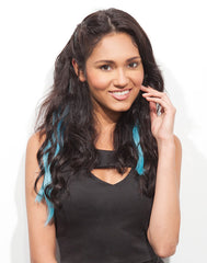 Spotlight Clip-In Hair Ext - Body Wave Blue Hawaii 2