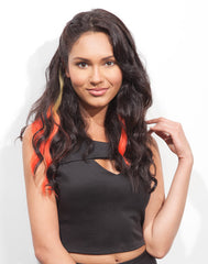 Spotlight Clip-In Hair Ext - Body Wave Summer Sunset 2