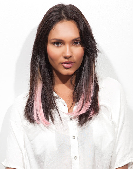 Spotlight Clip-In Hair Ext - J Curl Babe Pink 2