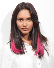 Spotlight Clip-In Hair Ext - J Curl Pink Berry 2