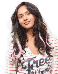 Spotlight Clip-In Hair - Romance Curl Babe Pink 2