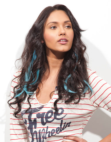 Romance Curl Blue Hawaii-2