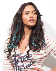 Spotlight Clip-In Hair - Romance Curl Blue Hawaii 2