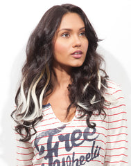 Spotlight Clip-In Hair Ext - Romance Curl Pina Colada 2