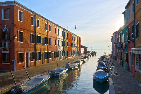 Burano Morning Light