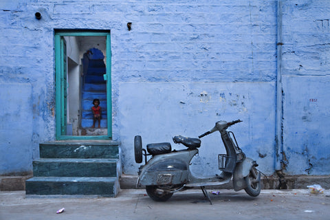 Blue Scoot