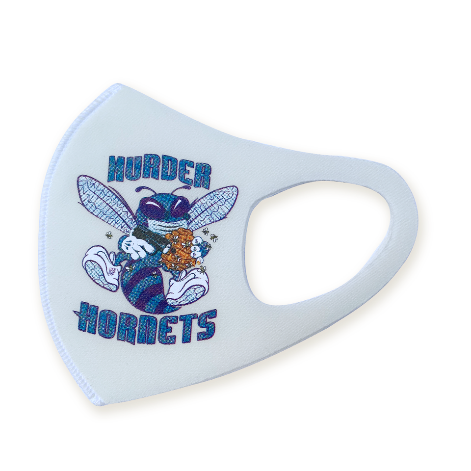 Murder Hornets solid white (limited supply signed)