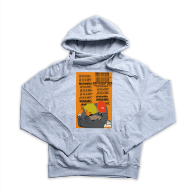 Real Friends heather grey Euro Hoody