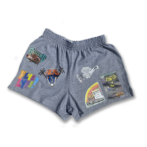 Grey Ladies' Athletic Shorts