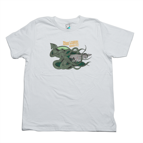 20000 Leagues under NYC white tee