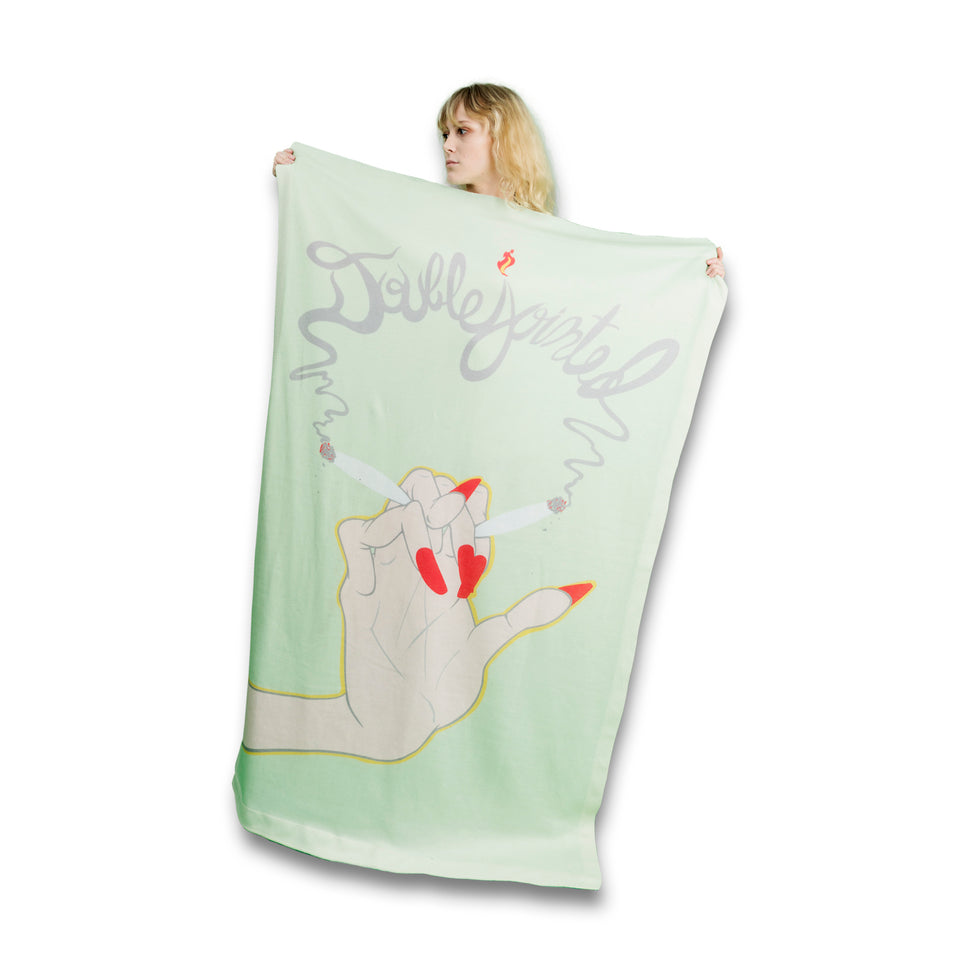 Double Jointed Blanket-Flag-Tapestry