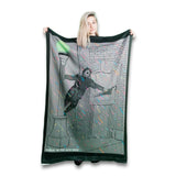 Singin' in the Acid Rain Blanket-Flag-Tapestry