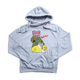 Death to Twinkie heather grey Euro Hoody