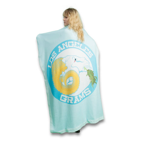Los Angeles Grams Blanket-Flag-Tapestry
