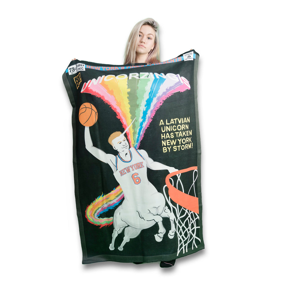 Unicorzingis Blanket-Flag-Tapestry