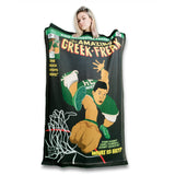 The Amazing Greek Freak Blanket-Flag-Tapestry