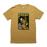 The Amazing Greek Freak mustard tee