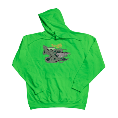 20000 Leagues Under NYC green hoody