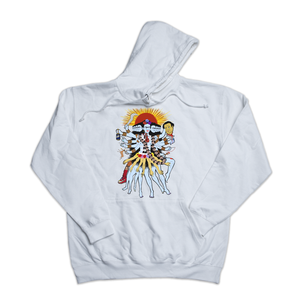 Frida Kali white hoody