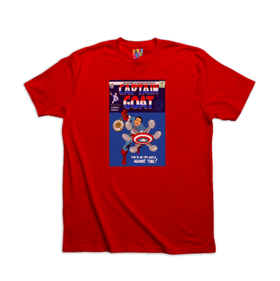 Captain GOAT red tee