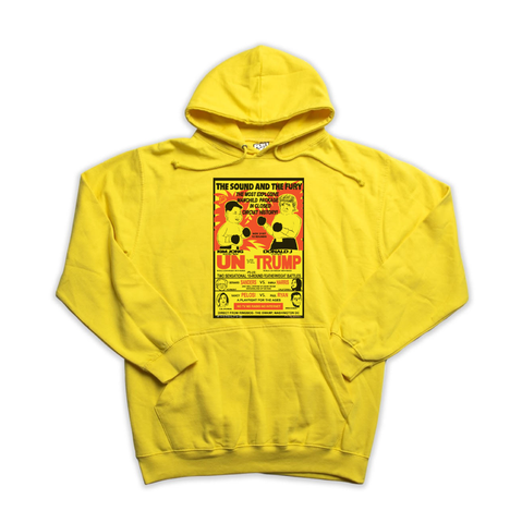 Un vs Trump yellow hoody