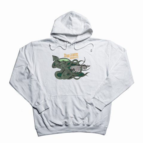 20000 Leagues under NYC white hoody