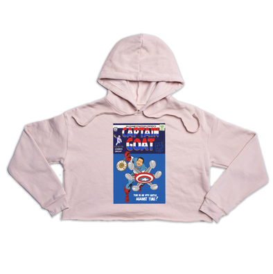 Captain GOAT Premium peach crop hoody