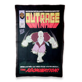Never, Ever lose your sense of OUTRAGE Blanket-Flag-Tapestry