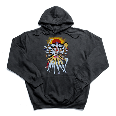 Frida Kali black hoody