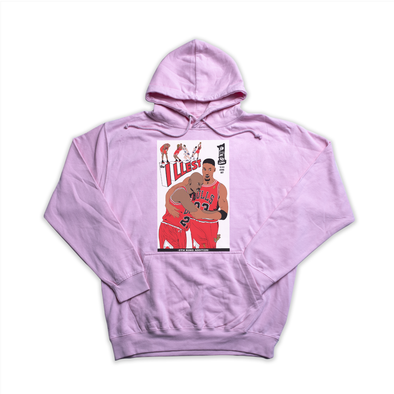 The Illest pink hoody
