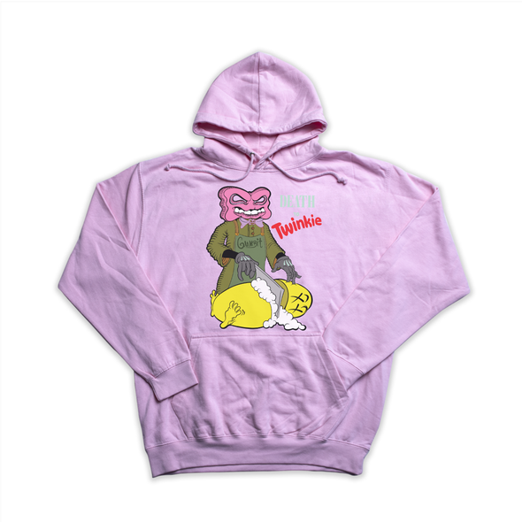 Death to Twinkie pink hoody