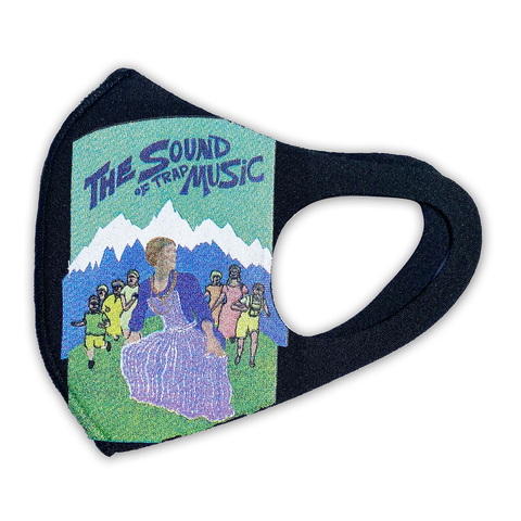 The Sound of Trap Music black mask (limited supply signed)