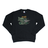 20000 Leagues under NYC black sweater