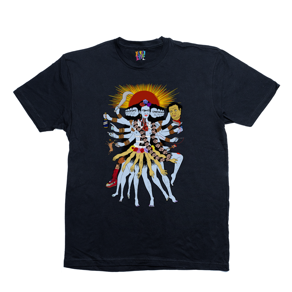 Frida Kali black tee