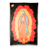 Skull of Guadalupe Blanket-Flag-Tapestry