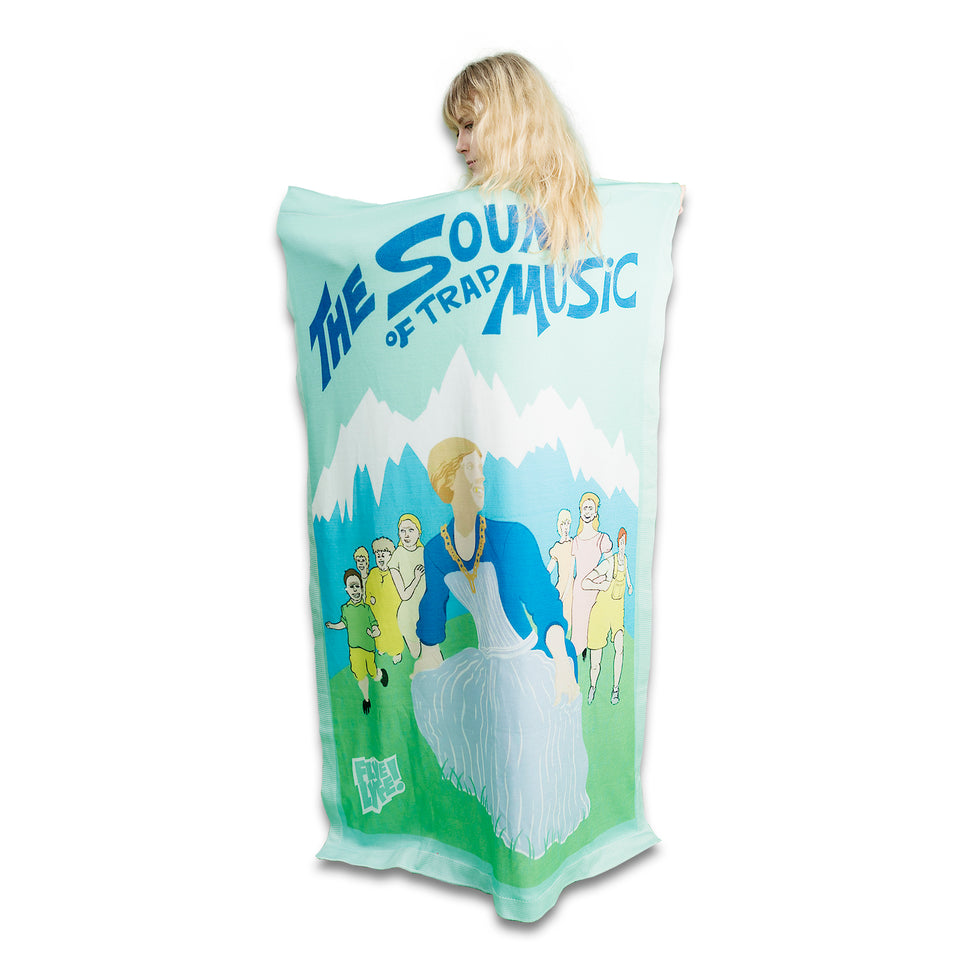 The Sound of Trap Music Blanket-Flag-Tapestry