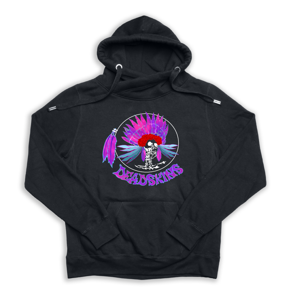 Deadskins black Euro Hoody