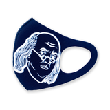 Dollars mask solid navy (limited supply signed)