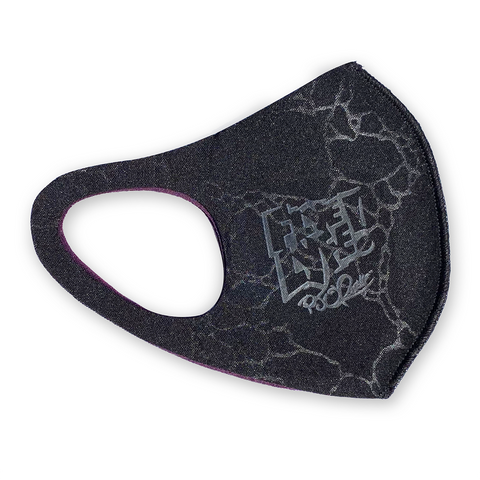 Bags O'Chronic patch mask marble black (limited supply signed)