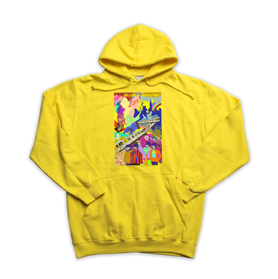 The Yellow Subway Line yellow hoody