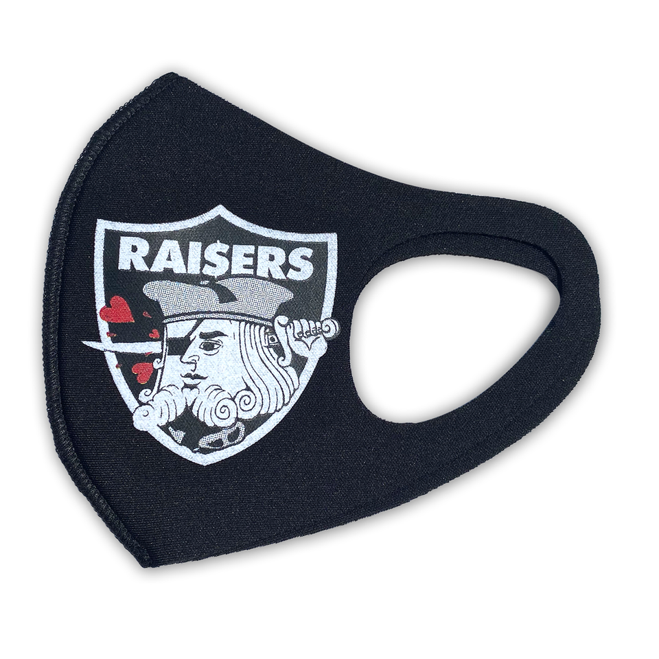 Raisers black mask (limited supply signed)