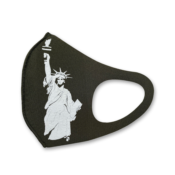 Liberty military green mask