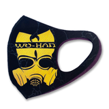 Wuhan Cruises mask marble black (limited supply signed)