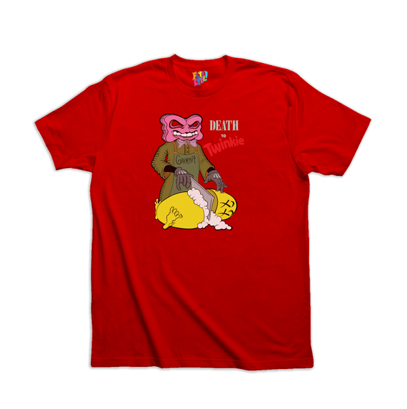 Death to Twinkie red tee