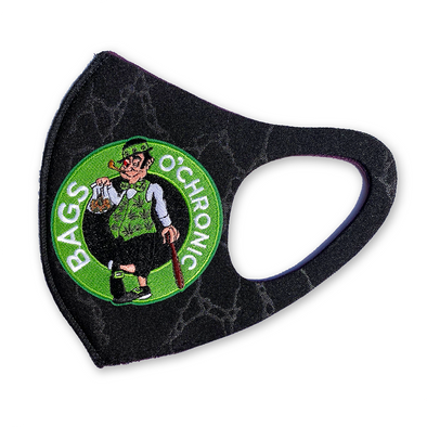 Bags O'Chronic patch mask marble black