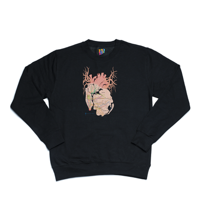 New York City Arteries black sweater